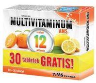 Multivitaminum AMS FORTE x 90 tabletek (60 + 30 gratis)
