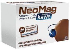 NEOMAG Dla Pijących Kawę x 50 tabletek