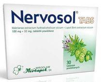 Nervosol TABS x 30 tabletek