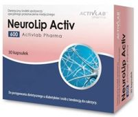 NeuroLip Activ 600 x 30 kapsułek