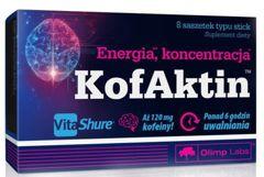 OLIMP KofAktin smak cytrynowy x 8 saszetek typu stick - data ważności 19-09-2019r.