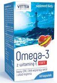 Omega-3 1000mg Forte + witamina E x 60 kapsułek