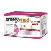 OmegaMed Optima Forte dla kobiet w ciąży 60 kapsułek DHA + 30 kapsułek optima - data ważności 31-01-2020r.