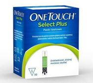 OneTouch Select Plus paski testowe x 50 sztuk