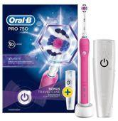 Oral-B Pro 750 3D White szczoteczka elektryczna x 1 sztuka