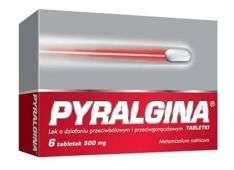 PYRALGINA x 6 tabletek