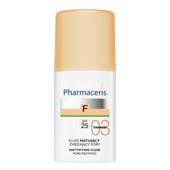 Pharmaceris F Fluid matujący zwężający pory SPF25 03 Tanned 30ml