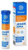 Plusssz Jesień-Zima + Multiwitamina x 20 tabletek musujących