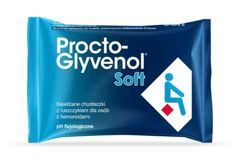 Procto-Glyvenol Soft chusteczki nawilżane x 30 sztuk