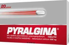 Pyralgina 0,5g x 20 tabletek