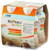 Resource 2.0 + Fibre smak kawowy 200ml x 4 sztuki