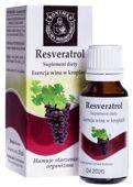 Resveratrol esencja wina w kroplach 20ml