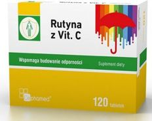 Rutyna z Vit. C x 120 tabletek