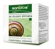 SANBIOS Krem ze śluzem ślimaka 50ml