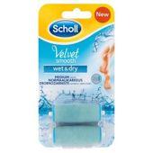 Scholl Velvet Smooth Wet & Dry  wymienne głowice obrotowe x 2 sztuki
