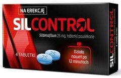 Silcontrol 25mg x 4 tabletki