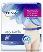 TENA Lady Pants Plus Medium x 9 sztuk
