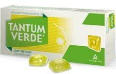 Tantum Verde smak cytrynowy x 30 pastylek do ssania