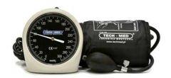 Tech-Med Ciśnieniomierz zegarowy/czarny CIS_TM-H