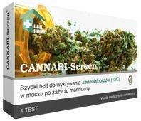 Test CANNABI-Screen na THC x 1 sztuka