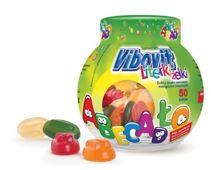 VIBOVIT Literki żelki owocowe z witaminami x 50 sztuk