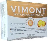 VIMONT Witamina D3 Forte 1000j.m x 120 kapsułek