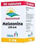 MELATONINA 3mg x 60 tabletek