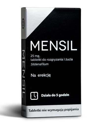 Mensil 25 mg - Opinie - skutecznaerekcja.pl