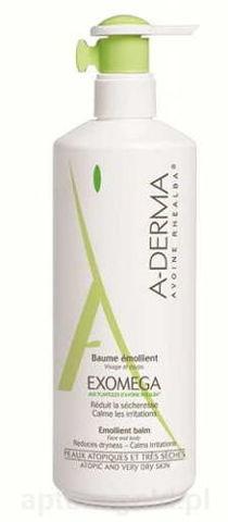 A-DERMA Exomega balsam nawilżająco - zmiękczający 400ml