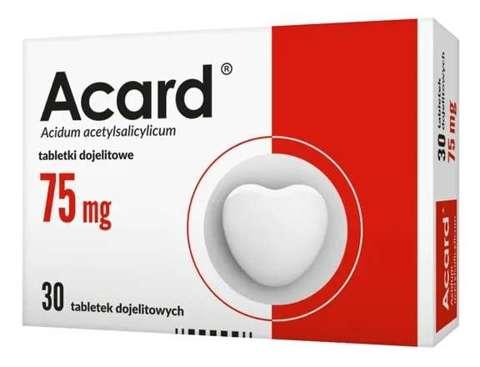 ACARD 75mg x 30 tabletek