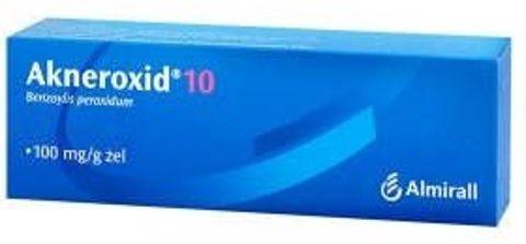 AKNEROXID 10% żel 50g