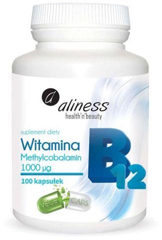 ALINESS Witamina B12 1000µg x 100 kapsułek