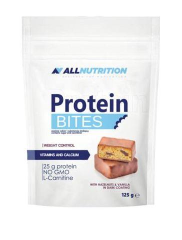 ALLNUTRITION Protein Bites Hazelnuts & Vanilia 125g