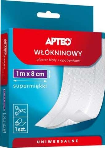 APTEO Care Plaster włókninowy z opatrunkiem 1m x 8cm