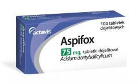 ASPIFOX 75mg x 100 tabletek