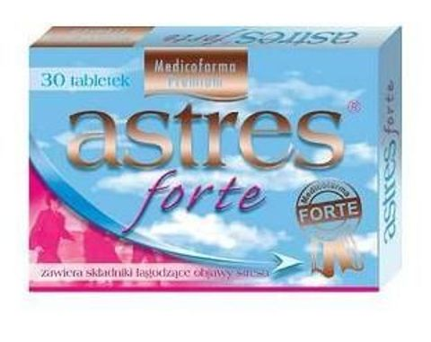 ASTRES Forte x 30 tabletek