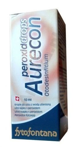 AURECON PeroxidDrops krople 10ml