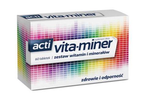 Acti Vita-miner x 60 tabletek