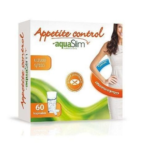 Appetite Control Aqua Slim x 60 kapsułek
