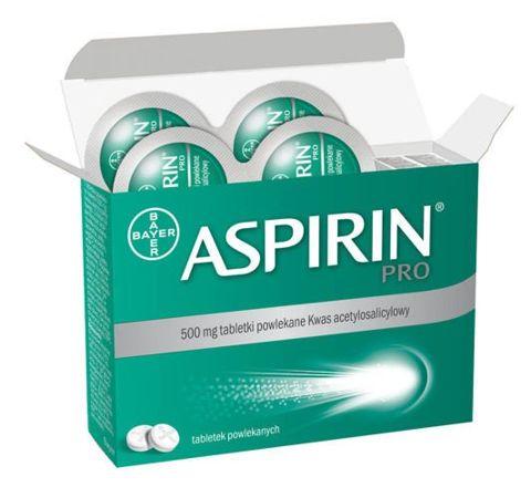 Aspirin Pro 500mg x 20 tabletek