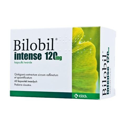 BILOBIL Intense x 60 kapsułek