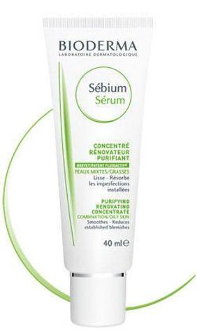 BIODERMA Sebium Serum złuszczające do skóry tłustej i mieszanej 40ml