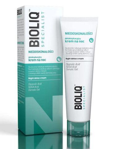 BIOLIQ SPECIALIST Niedoskonałości detoksykacyjny krem na noc 30ml