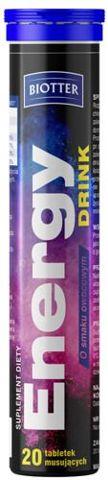 BIOTTER Energy Drink x 20 tabletek musujących