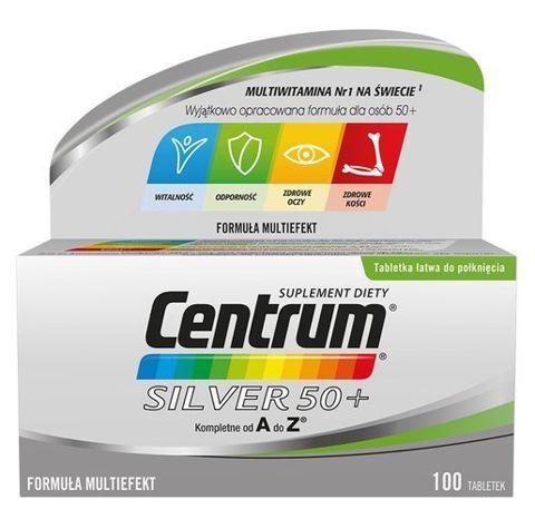 CENTRUM A-Z Silver 50+ x 100 tabletek