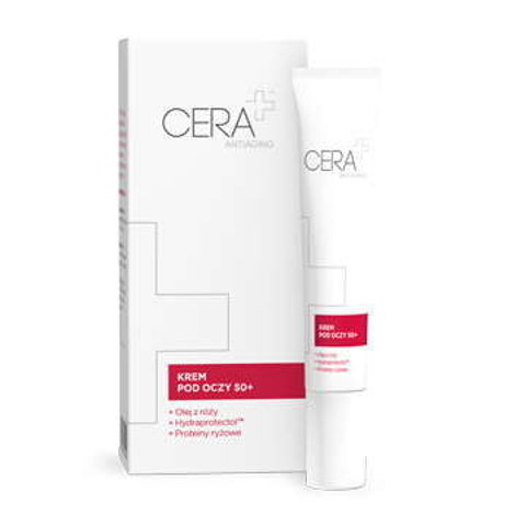 CERA+ Antiaging krem pod oczy 50+ 15ml