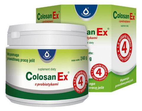 COLOSAN EX z probiotykami 240g