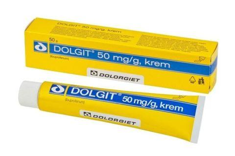 DOLGIT 5% krem 50g