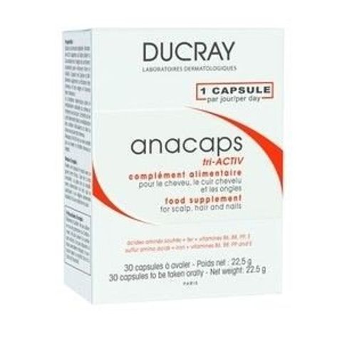 DUCRAY ANACAPS TRI-ACTIV x 30 kapsułek