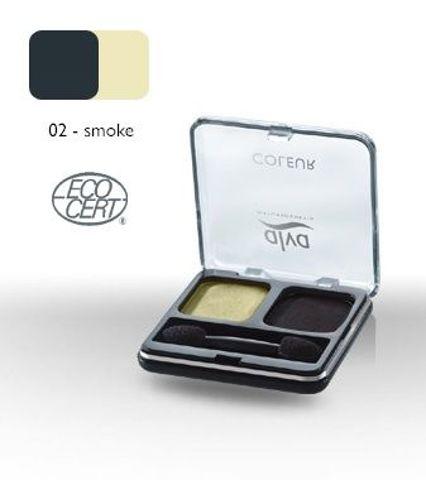 DUET cieni do powiek 02 - Smoke 4 g